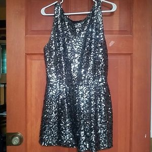 Bb Dakota sequin romper sz 8 / M